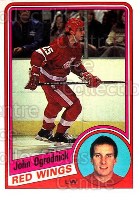 1984-85 O-Pee-Chee #62 John Ogrodnick<br/>10 In Stock - $1.00 each - <a href=https://centericecollectibles.foxycart.com/cart?name=1984-85%20O-Pee-Chee%20%2362%20John%20Ogrodnick...&quantity_max=10&price=$1.00&code=206260 class=foxycart> Buy it now! </a>
