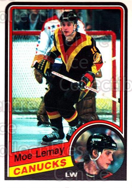 1984-85 O-Pee-Chee #322 Moe Lemay<br/>6 In Stock - $1.00 each - <a href=https://centericecollectibles.foxycart.com/cart?name=1984-85%20O-Pee-Chee%20%23322%20Moe%20Lemay...&quantity_max=6&price=$1.00&code=206268 class=foxycart> Buy it now! </a>
