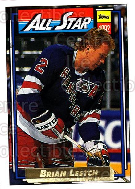 1992-93 Topps Gold #261 Brian Leetch<br/>6 In Stock - $2.00 each - <a href=https://centericecollectibles.foxycart.com/cart?name=1992-93%20Topps%20Gold%20%23261%20Brian%20Leetch...&quantity_max=6&price=$2.00&code=206270 class=foxycart> Buy it now! </a>