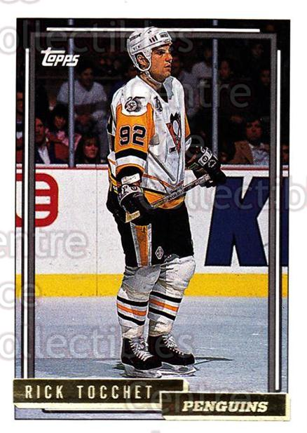 1992-93 Topps Gold #70 Rick Tocchet<br/>6 In Stock - $2.00 each - <a href=https://centericecollectibles.foxycart.com/cart?name=1992-93%20Topps%20Gold%20%2370%20Rick%20Tocchet...&quantity_max=6&price=$2.00&code=206311 class=foxycart> Buy it now! </a>