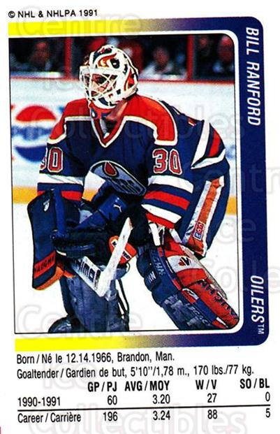 1991-92 Panini Stickers #125 Bill Ranford<br/>7 In Stock - $1.00 each - <a href=https://centericecollectibles.foxycart.com/cart?name=1991-92%20Panini%20Stickers%20%23125%20Bill%20Ranford...&quantity_max=7&price=$1.00&code=206375 class=foxycart> Buy it now! </a>