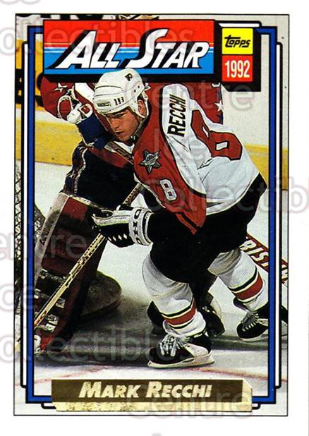1992-93 Topps Gold #267 Mark Recchi<br/>4 In Stock - $2.00 each - <a href=https://centericecollectibles.foxycart.com/cart?name=1992-93%20Topps%20Gold%20%23267%20Mark%20Recchi...&quantity_max=4&price=$2.00&code=206389 class=foxycart> Buy it now! </a>