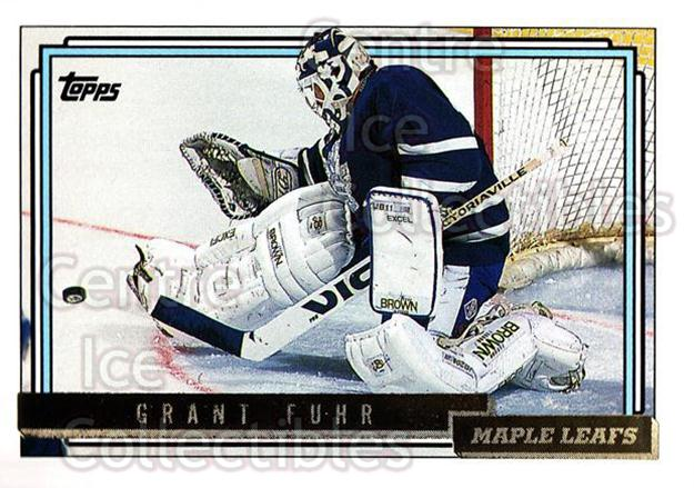 1992-93 Topps Gold #350 Grant Fuhr<br/>10 In Stock - $3.00 each - <a href=https://centericecollectibles.foxycart.com/cart?name=1992-93%20Topps%20Gold%20%23350%20Grant%20Fuhr...&quantity_max=10&price=$3.00&code=206395 class=foxycart> Buy it now! </a>
