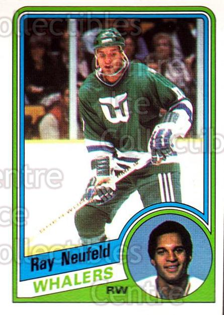 1984-85 O-Pee-Chee #76 Ray Neufeld<br/>11 In Stock - $1.00 each - <a href=https://centericecollectibles.foxycart.com/cart?name=1984-85%20O-Pee-Chee%20%2376%20Ray%20Neufeld...&quantity_max=11&price=$1.00&code=206407 class=foxycart> Buy it now! </a>