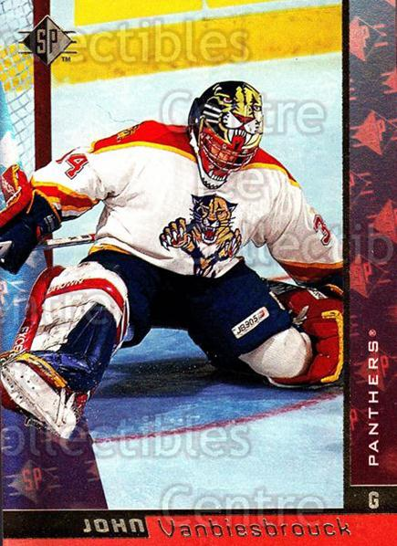 1996-97 SP #61 John Vanbiesbrouck<br/>4 In Stock - $1.00 each - <a href=https://centericecollectibles.foxycart.com/cart?name=1996-97%20SP%20%2361%20John%20Vanbiesbro...&quantity_max=4&price=$1.00&code=206452 class=foxycart> Buy it now! </a>