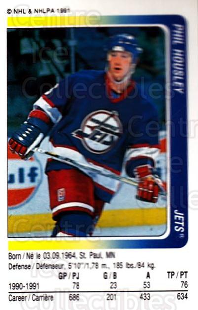 1991-92 Panini Stickers #65 Phil Housley<br/>7 In Stock - $1.00 each - <a href=https://centericecollectibles.foxycart.com/cart?name=1991-92%20Panini%20Stickers%20%2365%20Phil%20Housley...&quantity_max=7&price=$1.00&code=206455 class=foxycart> Buy it now! </a>
