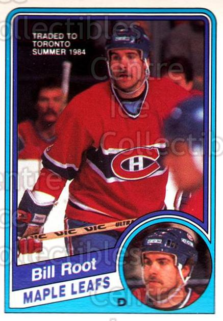 1984-85 O-Pee-Chee #271 Bill Root<br/>2 In Stock - $1.00 each - <a href=https://centericecollectibles.foxycart.com/cart?name=1984-85%20O-Pee-Chee%20%23271%20Bill%20Root...&quantity_max=2&price=$1.00&code=206459 class=foxycart> Buy it now! </a>