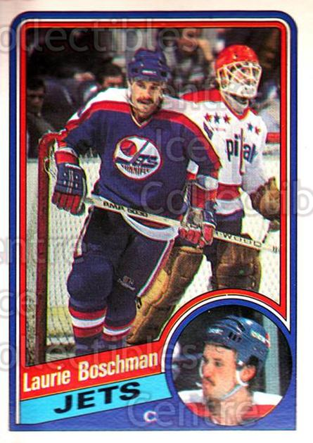 1984-85 O-Pee-Chee #335 Laurie Boschman<br/>7 In Stock - $1.00 each - <a href=https://centericecollectibles.foxycart.com/cart?name=1984-85%20O-Pee-Chee%20%23335%20Laurie%20Boschman...&quantity_max=7&price=$1.00&code=206462 class=foxycart> Buy it now! </a>