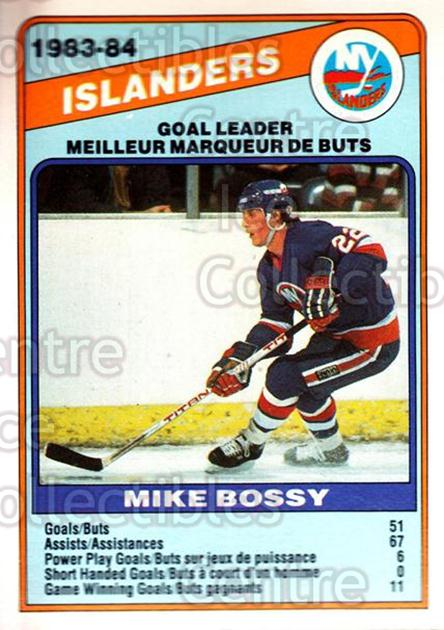 1984-85 O-Pee-Chee #362 Mike Bossy<br/>2 In Stock - $1.00 each - <a href=https://centericecollectibles.foxycart.com/cart?name=1984-85%20O-Pee-Chee%20%23362%20Mike%20Bossy...&price=$1.00&code=206477 class=foxycart> Buy it now! </a>