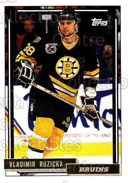 1992-93 Topps Gold #333 Vladimir Ruzicka<br/>3 In Stock - $2.00 each - <a href=https://centericecollectibles.foxycart.com/cart?name=1992-93%20Topps%20Gold%20%23333%20Vladimir%20Ruzick...&quantity_max=3&price=$2.00&code=206516 class=foxycart> Buy it now! </a>