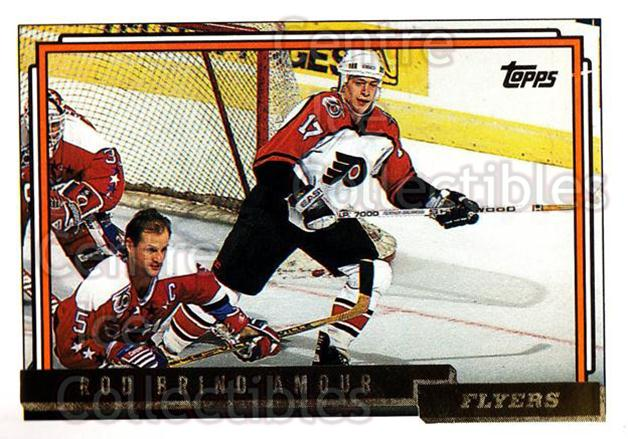 1992-93 Topps Gold #90 Rod Brind'Amour<br/>4 In Stock - $3.00 each - <a href=https://centericecollectibles.foxycart.com/cart?name=1992-93%20Topps%20Gold%20%2390%20Rod%20Brind'Amour...&quantity_max=4&price=$3.00&code=206603 class=foxycart> Buy it now! </a>