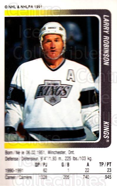 1991-92 Panini Stickers #82 Larry Robinson<br/>7 In Stock - $1.00 each - <a href=https://centericecollectibles.foxycart.com/cart?name=1991-92%20Panini%20Stickers%20%2382%20Larry%20Robinson...&quantity_max=7&price=$1.00&code=206614 class=foxycart> Buy it now! </a>
