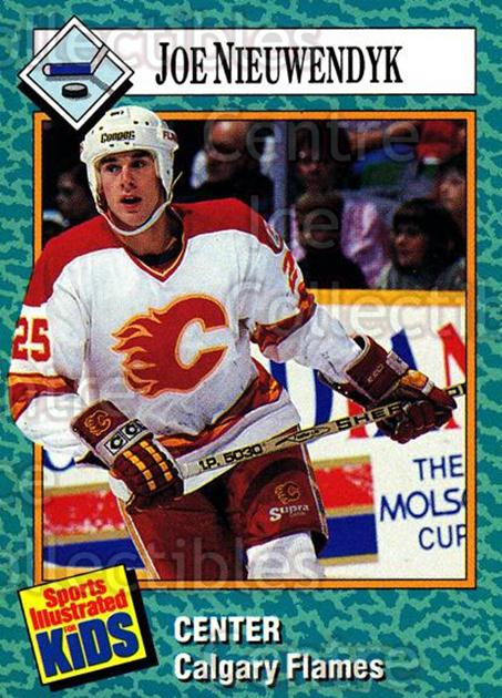 1989-91 Sports Illustrated for Kids #15 Joe Nieuwendyk<br/>5 In Stock - $2.00 each - <a href=https://centericecollectibles.foxycart.com/cart?name=1989-91%20Sports%20Illustrated%20for%20Kids%20%2315%20Joe%20Nieuwendyk...&quantity_max=5&price=$2.00&code=206628 class=foxycart> Buy it now! </a>