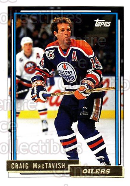 1992-93 Topps Gold #336 Craig MacTavish<br/>7 In Stock - $2.00 each - <a href=https://centericecollectibles.foxycart.com/cart?name=1992-93%20Topps%20Gold%20%23336%20Craig%20MacTavish...&quantity_max=7&price=$2.00&code=206645 class=foxycart> Buy it now! </a>