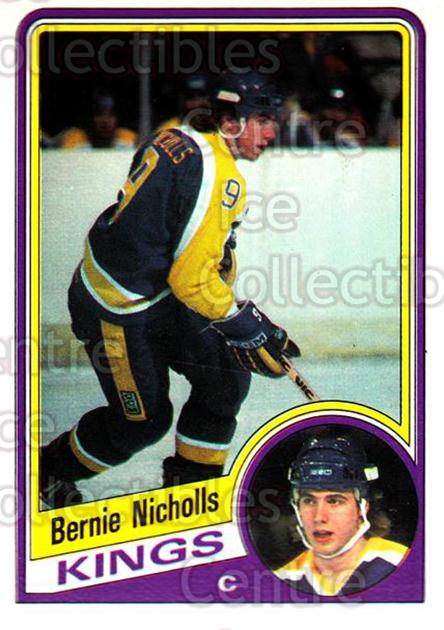 1984-85 O-Pee-Chee #88 Bernie Nicholls<br/>3 In Stock - $1.00 each - <a href=https://centericecollectibles.foxycart.com/cart?name=1984-85%20O-Pee-Chee%20%2388%20Bernie%20Nicholls...&quantity_max=3&price=$1.00&code=206676 class=foxycart> Buy it now! </a>