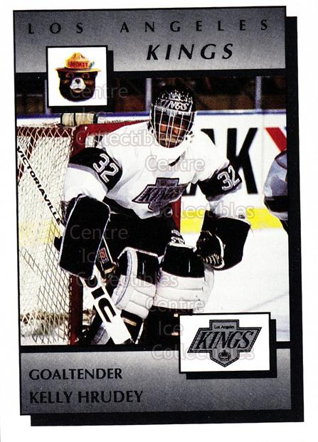 1989-90 Los Angeles Kings Smokey #16 Kelly Hrudey<br/>8 In Stock - $3.00 each - <a href=https://centericecollectibles.foxycart.com/cart?name=1989-90%20Los%20Angeles%20Kings%20Smokey%20%2316%20Kelly%20Hrudey...&quantity_max=8&price=$3.00&code=20667 class=foxycart> Buy it now! </a>