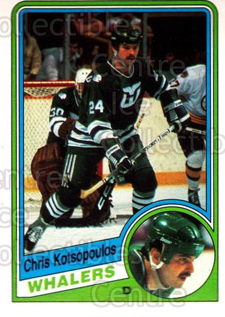 1984-85 O-Pee-Chee #73 Chris Kotsopoulos<br/>9 In Stock - $1.00 each - <a href=https://centericecollectibles.foxycart.com/cart?name=1984-85%20O-Pee-Chee%20%2373%20Chris%20Kotsopoul...&quantity_max=9&price=$1.00&code=206699 class=foxycart> Buy it now! </a>