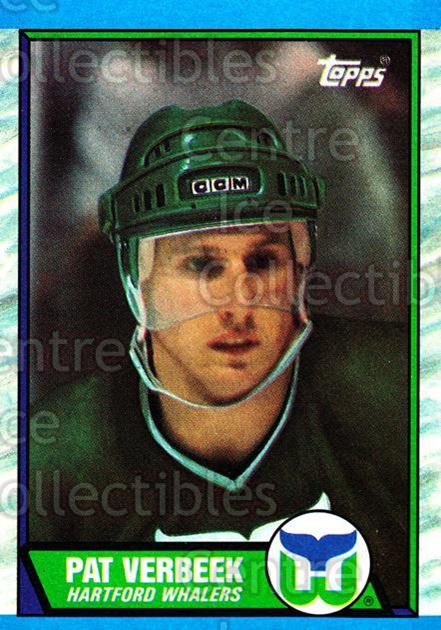 1989-90 Topps #32 Pat Verbeek<br/>6 In Stock - $1.00 each - <a href=https://centericecollectibles.foxycart.com/cart?name=1989-90%20Topps%20%2332%20Pat%20Verbeek...&quantity_max=6&price=$1.00&code=20671 class=foxycart> Buy it now! </a>
