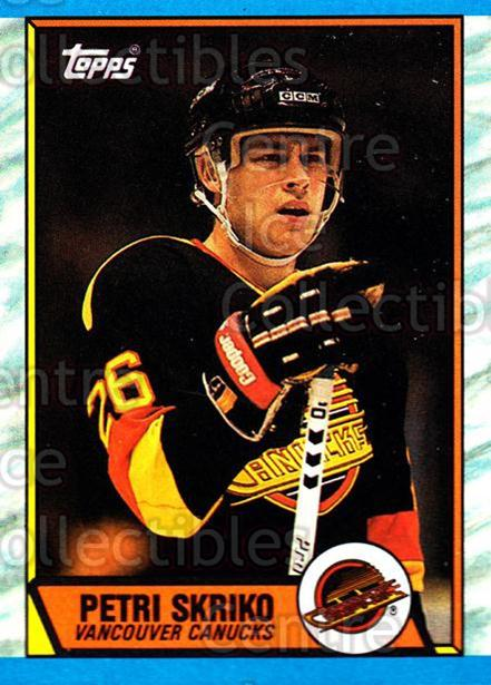 1989-90 Topps #33 Petri Skriko<br/>6 In Stock - $1.00 each - <a href=https://centericecollectibles.foxycart.com/cart?name=1989-90%20Topps%20%2333%20Petri%20Skriko...&quantity_max=6&price=$1.00&code=20672 class=foxycart> Buy it now! </a>