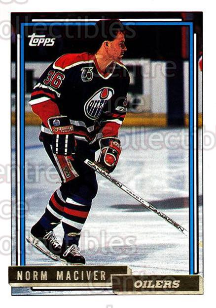 1992-93 Topps Gold #96 Norm MacIver<br/>7 In Stock - $2.00 each - <a href=https://centericecollectibles.foxycart.com/cart?name=1992-93%20Topps%20Gold%20%2396%20Norm%20MacIver...&quantity_max=7&price=$2.00&code=206740 class=foxycart> Buy it now! </a>