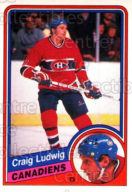 1984-85 O-Pee-Chee #265 Craig Ludwig<br/>7 In Stock - $1.00 each - <a href=https://centericecollectibles.foxycart.com/cart?name=1984-85%20O-Pee-Chee%20%23265%20Craig%20Ludwig...&quantity_max=7&price=$1.00&code=206750 class=foxycart> Buy it now! </a>