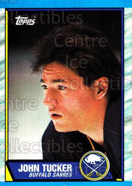 1989-90 Topps #37 John Tucker<br/>6 In Stock - $1.00 each - <a href=https://centericecollectibles.foxycart.com/cart?name=1989-90%20Topps%20%2337%20John%20Tucker...&quantity_max=6&price=$1.00&code=20676 class=foxycart> Buy it now! </a>