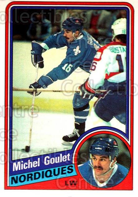 1984-85 O-Pee-Chee #280 Michel Goulet<br/>9 In Stock - $1.00 each - <a href=https://centericecollectibles.foxycart.com/cart?name=1984-85%20O-Pee-Chee%20%23280%20Michel%20Goulet...&quantity_max=9&price=$1.00&code=206786 class=foxycart> Buy it now! </a>