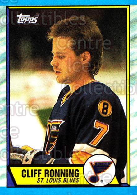 1989-90 Topps #45 Cliff Ronning<br/>6 In Stock - $1.00 each - <a href=https://centericecollectibles.foxycart.com/cart?name=1989-90%20Topps%20%2345%20Cliff%20Ronning...&quantity_max=6&price=$1.00&code=20684 class=foxycart> Buy it now! </a>