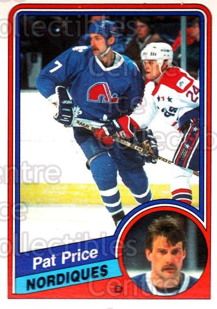 1984-85 O-Pee-Chee #286 Pat Price<br/>9 In Stock - $1.00 each - <a href=https://centericecollectibles.foxycart.com/cart?name=1984-85%20O-Pee-Chee%20%23286%20Pat%20Price...&quantity_max=9&price=$1.00&code=206868 class=foxycart> Buy it now! </a>