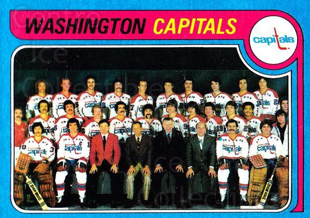 1979-80 Topps #260 Washington Capitals, Checklist<br/>4 In Stock - $3.00 each - <a href=https://centericecollectibles.foxycart.com/cart?name=1979-80%20Topps%20%23260%20Washington%20Capi...&quantity_max=4&price=$3.00&code=206892 class=foxycart> Buy it now! </a>