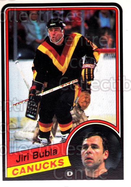 1984-85 O-Pee-Chee #315 Jiri Bubla<br/>4 In Stock - $1.00 each - <a href=https://centericecollectibles.foxycart.com/cart?name=1984-85%20O-Pee-Chee%20%23315%20Jiri%20Bubla...&quantity_max=4&price=$1.00&code=206908 class=foxycart> Buy it now! </a>