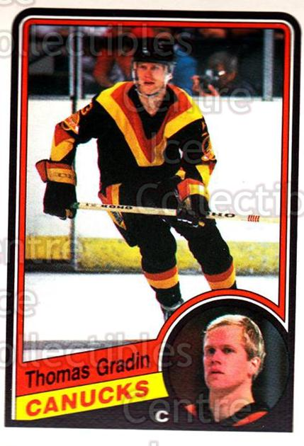 1984-85 O-Pee-Chee #319 Thomas Gradin<br/>8 In Stock - $1.00 each - <a href=https://centericecollectibles.foxycart.com/cart?name=1984-85%20O-Pee-Chee%20%23319%20Thomas%20Gradin...&quantity_max=8&price=$1.00&code=206919 class=foxycart> Buy it now! </a>