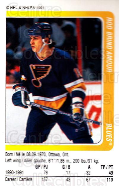 1991-92 Panini Stickers #30 Rod Brind'Amour<br/>6 In Stock - $1.00 each - <a href=https://centericecollectibles.foxycart.com/cart?name=1991-92%20Panini%20Stickers%20%2330%20Rod%20Brind'Amour...&quantity_max=6&price=$1.00&code=206935 class=foxycart> Buy it now! </a>