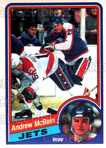 1984-85 O-Pee-Chee #343 Andrew McBain<br/>7 In Stock - $1.00 each - <a href=https://centericecollectibles.foxycart.com/cart?name=1984-85%20O-Pee-Chee%20%23343%20Andrew%20McBain...&quantity_max=7&price=$1.00&code=206960 class=foxycart> Buy it now! </a>