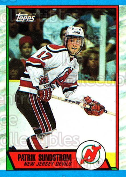 1989-90 Topps #56 Patrik Sundstrom<br/>3 In Stock - $1.00 each - <a href=https://centericecollectibles.foxycart.com/cart?name=1989-90%20Topps%20%2356%20Patrik%20Sundstro...&quantity_max=3&price=$1.00&code=20696 class=foxycart> Buy it now! </a>