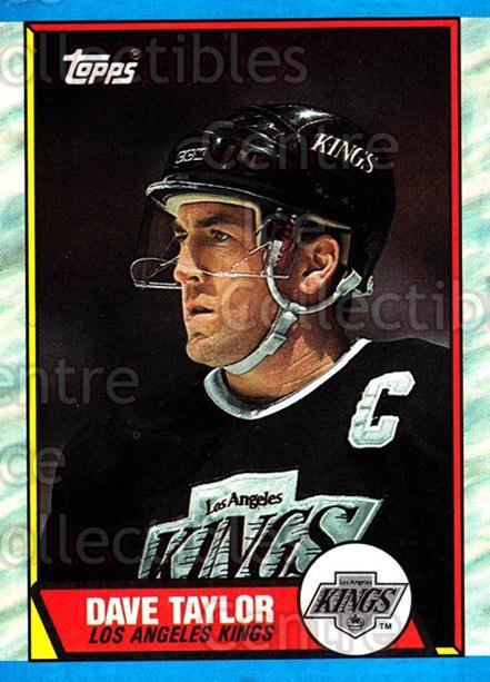 1989-90 Topps #58 Dave Taylor<br/>5 In Stock - $1.00 each - <a href=https://centericecollectibles.foxycart.com/cart?name=1989-90%20Topps%20%2358%20Dave%20Taylor...&quantity_max=5&price=$1.00&code=20697 class=foxycart> Buy it now! </a>