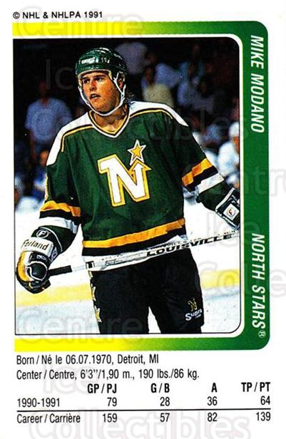 1991-92 Panini Stickers #116 Mike Modano<br/>5 In Stock - $1.00 each - <a href=https://centericecollectibles.foxycart.com/cart?name=1991-92%20Panini%20Stickers%20%23116%20Mike%20Modano...&quantity_max=5&price=$1.00&code=206980 class=foxycart> Buy it now! </a>