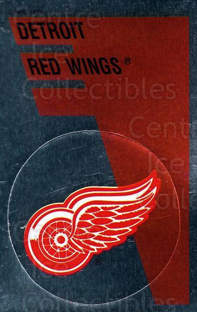 1991-92 Panini Stickers #149 Detroit Red Wings<br/>7 In Stock - $1.00 each - <a href=https://centericecollectibles.foxycart.com/cart?name=1991-92%20Panini%20Stickers%20%23149%20Detroit%20Red%20Win...&quantity_max=7&price=$1.00&code=206986 class=foxycart> Buy it now! </a>