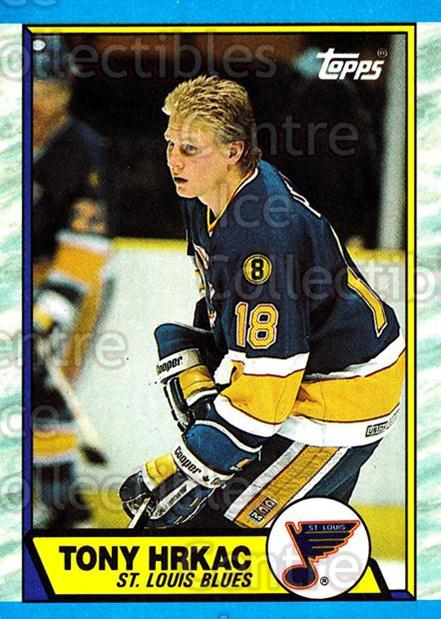 1989-90 Topps #64 Tony Hrkac<br/>6 In Stock - $1.00 each - <a href=https://centericecollectibles.foxycart.com/cart?name=1989-90%20Topps%20%2364%20Tony%20Hrkac...&quantity_max=6&price=$1.00&code=20703 class=foxycart> Buy it now! </a>