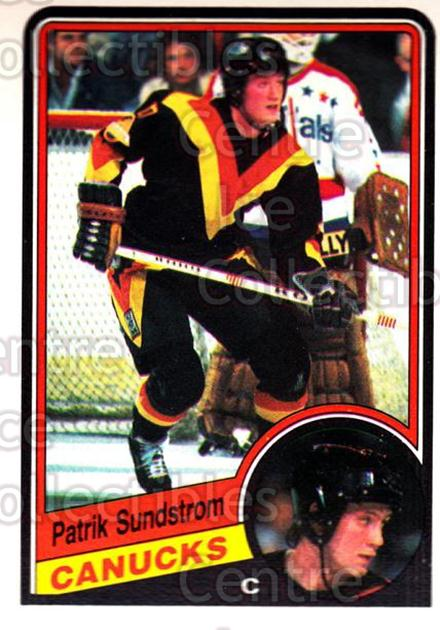 1984-85 O-Pee-Chee #331 Patrik Sundstrom<br/>6 In Stock - $1.00 each - <a href=https://centericecollectibles.foxycart.com/cart?name=1984-85%20O-Pee-Chee%20%23331%20Patrik%20Sundstro...&quantity_max=6&price=$1.00&code=207041 class=foxycart> Buy it now! </a>