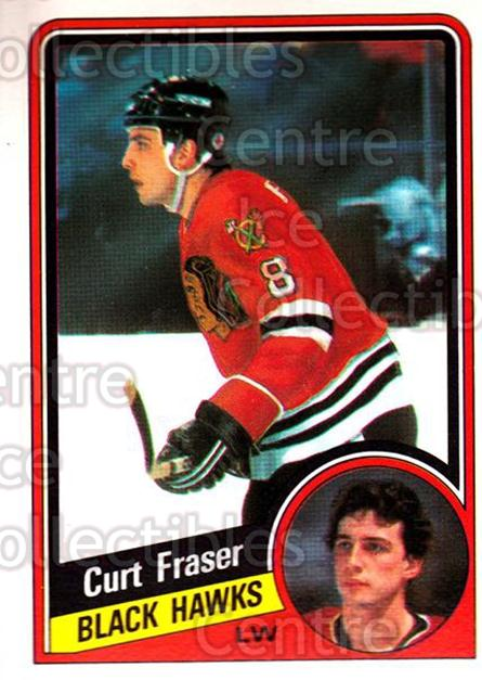 1984-85 O-Pee-Chee #34 Curt Fraser<br/>6 In Stock - $1.00 each - <a href=https://centericecollectibles.foxycart.com/cart?name=1984-85%20O-Pee-Chee%20%2334%20Curt%20Fraser...&quantity_max=6&price=$1.00&code=207049 class=foxycart> Buy it now! </a>