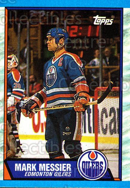 1989-90 Topps #65 Mark Messier<br/>4 In Stock - $2.00 each - <a href=https://centericecollectibles.foxycart.com/cart?name=1989-90%20Topps%20%2365%20Mark%20Messier...&quantity_max=4&price=$2.00&code=20704 class=foxycart> Buy it now! </a>