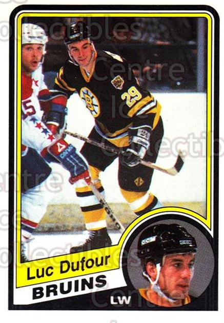 1984-85 O-Pee-Chee #3 Luc Dufour<br/>8 In Stock - $1.00 each - <a href=https://centericecollectibles.foxycart.com/cart?name=1984-85%20O-Pee-Chee%20%233%20Luc%20Dufour...&quantity_max=8&price=$1.00&code=207099 class=foxycart> Buy it now! </a>