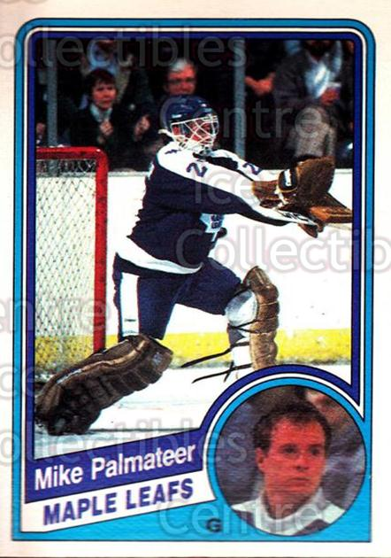 1984-85 O-Pee-Chee #308 Mike Palmateer<br/>6 In Stock - $1.00 each - <a href=https://centericecollectibles.foxycart.com/cart?name=1984-85%20O-Pee-Chee%20%23308%20Mike%20Palmateer...&quantity_max=6&price=$1.00&code=207118 class=foxycart> Buy it now! </a>