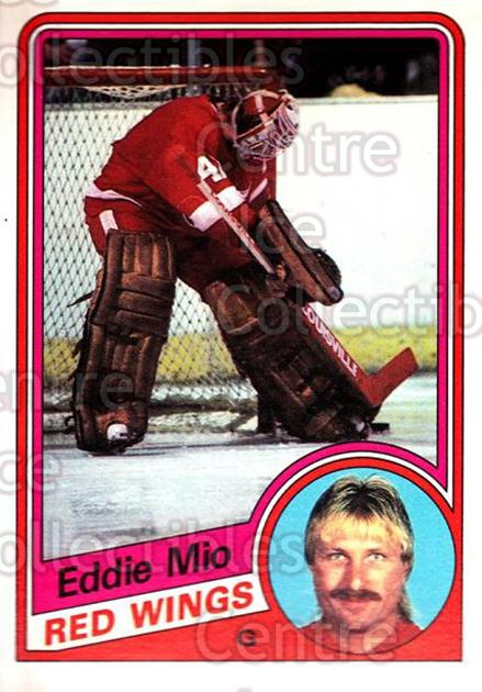 1984-85 O-Pee-Chee #61 Eddie Mio<br/>2 In Stock - $1.00 each - <a href=https://centericecollectibles.foxycart.com/cart?name=1984-85%20O-Pee-Chee%20%2361%20Eddie%20Mio...&quantity_max=2&price=$1.00&code=207125 class=foxycart> Buy it now! </a>