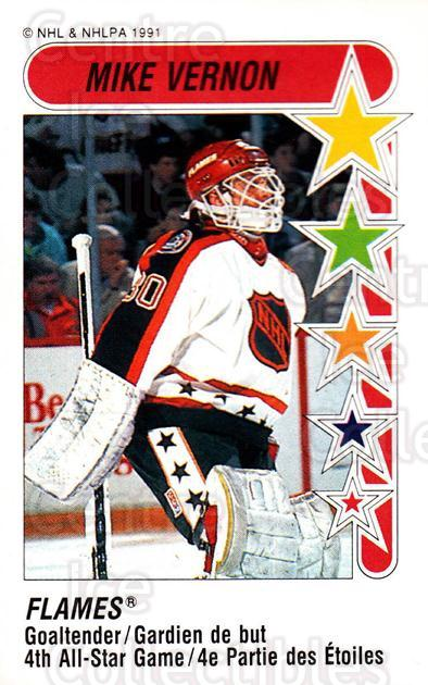 1991-92 Panini Stickers #328 Mike Vernon<br/>7 In Stock - $1.00 each - <a href=https://centericecollectibles.foxycart.com/cart?name=1991-92%20Panini%20Stickers%20%23328%20Mike%20Vernon...&quantity_max=7&price=$1.00&code=207197 class=foxycart> Buy it now! </a>