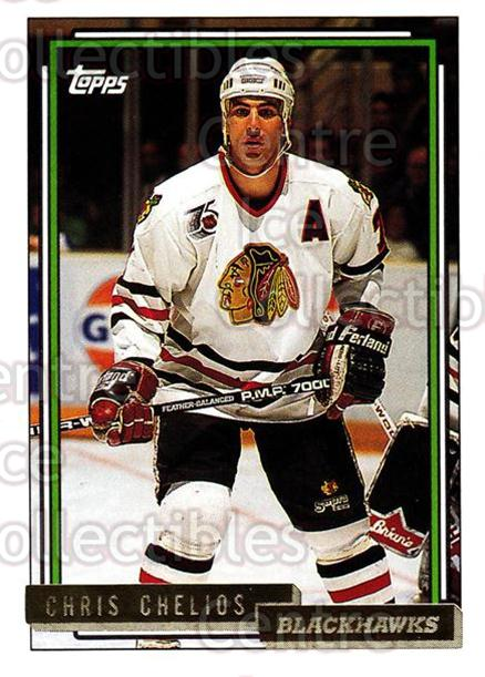 1992-93 Topps Gold #98 Chris Chelios<br/>4 In Stock - $2.00 each - <a href=https://centericecollectibles.foxycart.com/cart?name=1992-93%20Topps%20Gold%20%2398%20Chris%20Chelios...&quantity_max=4&price=$2.00&code=207236 class=foxycart> Buy it now! </a>