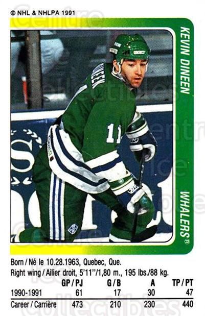1991-92 Panini Stickers #323 Kevin Dineen<br/>6 In Stock - $1.00 each - <a href=https://centericecollectibles.foxycart.com/cart?name=1991-92%20Panini%20Stickers%20%23323%20Kevin%20Dineen...&quantity_max=6&price=$1.00&code=207244 class=foxycart> Buy it now! </a>