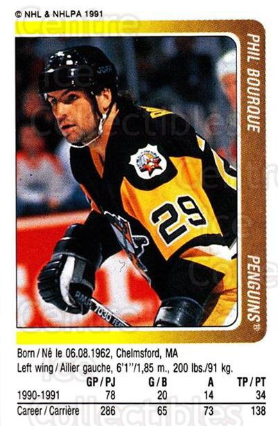 1991-92 Panini Stickers #272 Phil Bourque<br/>7 In Stock - $1.00 each - <a href=https://centericecollectibles.foxycart.com/cart?name=1991-92%20Panini%20Stickers%20%23272%20Phil%20Bourque...&quantity_max=7&price=$1.00&code=207249 class=foxycart> Buy it now! </a>
