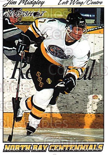 1995-96 Slapshot #213 Jim Midgley<br/>11 In Stock - $2.00 each - <a href=https://centericecollectibles.foxycart.com/cart?name=1995-96%20Slapshot%20%23213%20Jim%20Midgley...&price=$2.00&code=207251 class=foxycart> Buy it now! </a>